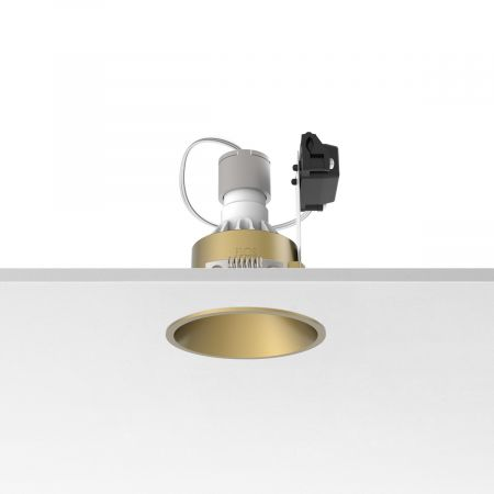 Įleidžiamas šviestuvas EASY KAP 80 FIX PAR 16 MAX 10W GOLD