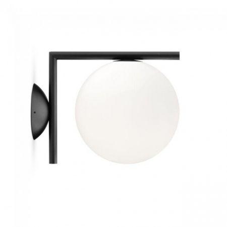 Sieninis šviestuvas IC C/W1 juodas