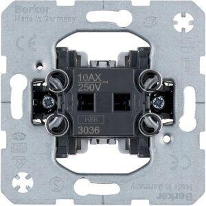 Mechanizmas jungiklis- perjungiklis 1-o klavišo  10A-250V