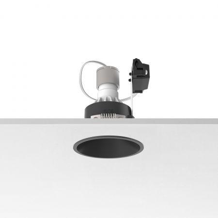Įleidžiamas šviestuvas EASY KAP 80 FIX PAR 16 MAX 10W BLACK